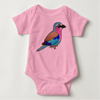 Lilac-breasted Roller Baby Jersey Bodysuit