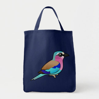 Lilac-breasted Roller Tote Bags