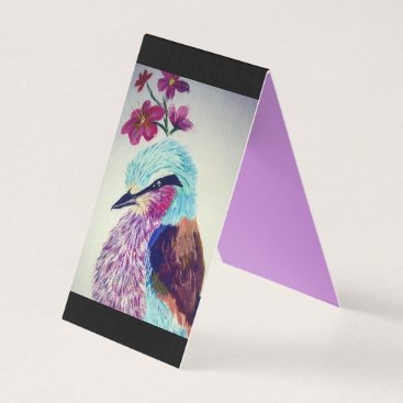 Professional Business Lilac Breasted Roller Business Card