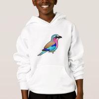 Lilac-breasted Roller Kids' Hanes ComfortBlend® Hoodie