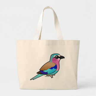 Lilac-breasted Roller Large Tote Bag