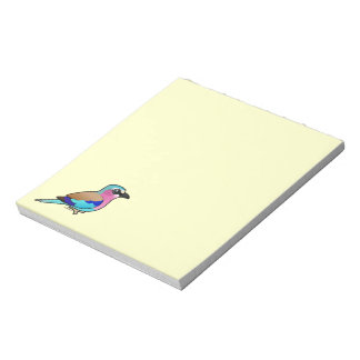 Lilac-breasted Roller Memo Notepads