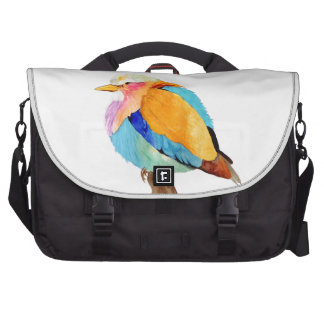 Lilac Breasted Roller Watercolor Bag For Laptop
