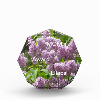 Lilac Bush Acrylic Award