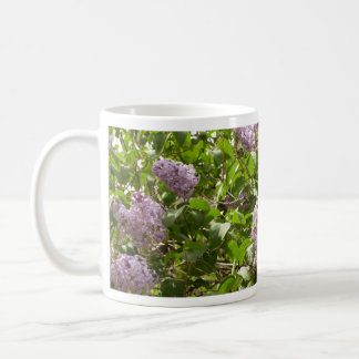 Lilac Bush Beautiful Purple Spring Flowers Coffee Mug