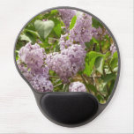 Lilac Bush Beautiful Purple Spring Flowers Gel Mouse Pad