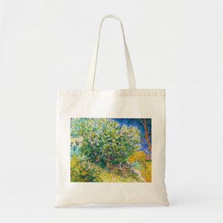 Lilac Bush by Vincent Van Gogh painting Bag