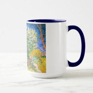 Lilac Bush by Vincent Van Gogh painting Mug