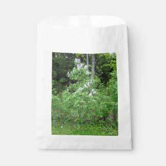 Lilac Bush Favor Bag