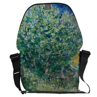 Lilac Bush Lilacs by Vincent Van Gogh Courier Bag