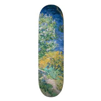 Lilac Bush (Lilacs) by Vincent Van Gogh Skateboard Deck
