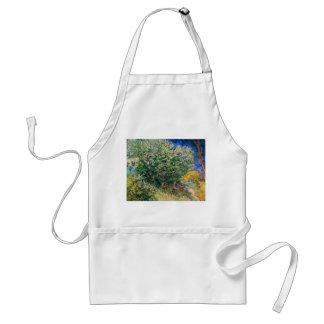 Lilac Bush – Lilacs, Vincent Van Gogh Adult Apron