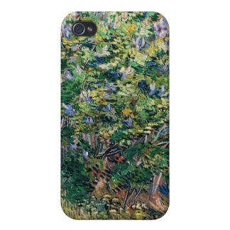 Lilac Bush – Lilacs, Vincent Van Gogh iPhone 4 Case