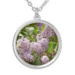 Lilac Bush Necklace