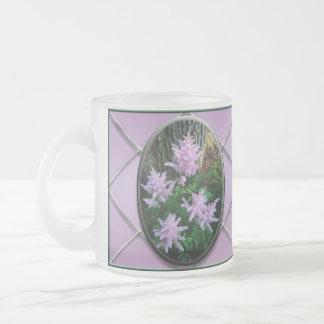 Lilac Butterfly Bush Flower Mugs Customizable