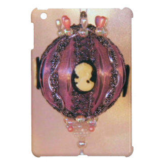 Lilac cameo bauble cover for the iPad mini