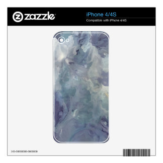 Lilac Chill Decals For The iPhone 4