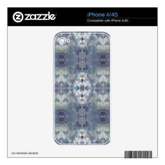 Lilac Chill Pattern Skins For The iPhone 4S