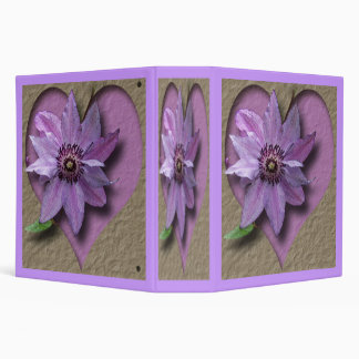 Lilac Clematis and Heart Binder