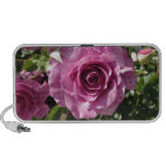 Lilac Colored Rose Portable Speakers