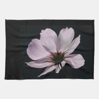 Lilac Cosmea Flower Towels