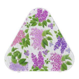 Lilac Country Floral Garden Pieladium Speaker