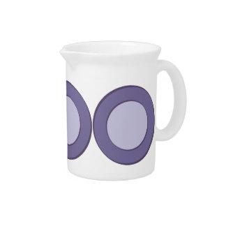 Lilac Dot Beverage Pitcher