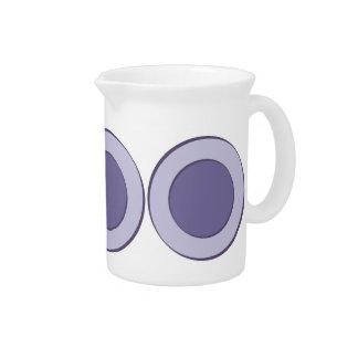 Lilac Dot Drink Pitcher