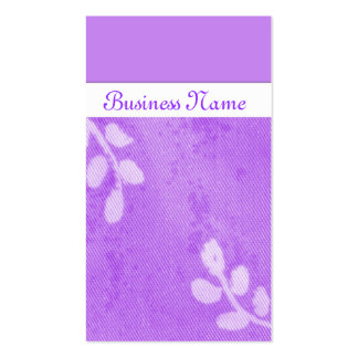 Lilac Dreams Double-Sided Standard Business Cards (Pack Of 100)