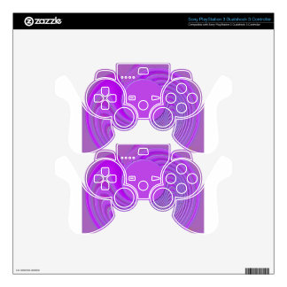 Lilac Dust Skins For PS3 Controllers