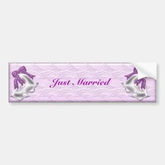 Lilac Elegance #1 Bumper Sticker