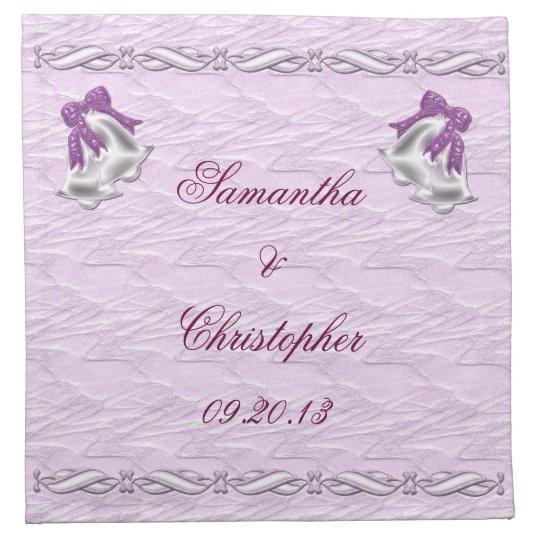 Lilac Elegance #1 Cloth Napkin