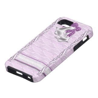 Lilac Elegance #1 iPhone SE/5/5s Case