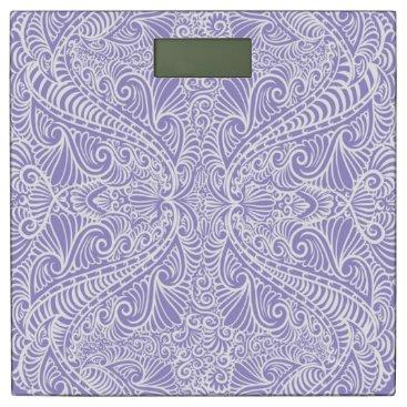 Beach Themed Lilac Elegant flow Bathroom Scale