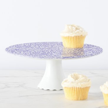 Beach Themed Lilac Elegant flow Cake Stand
