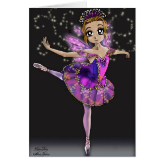 Lilac Fairy - Sleeping Beauty Ballet Card