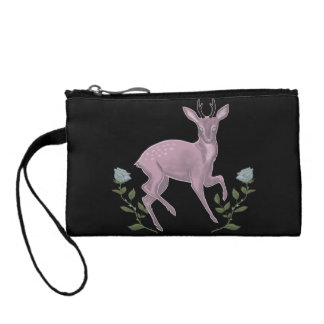 Lilac Fawn Coin Wallet