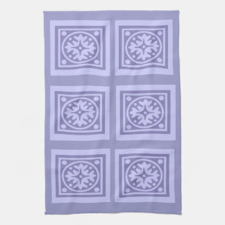 Lilac Floral Abstract Towels