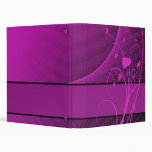 lilac flower Avery Binder