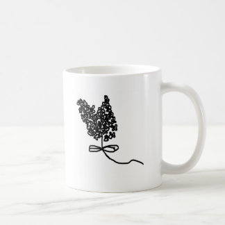 Lilac Flower Design in Summer Flowers Mug