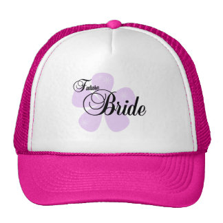 Lilac Flower Future Bride Tshirts and Gifts Trucker Hat