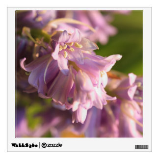 lilac flower wall decal