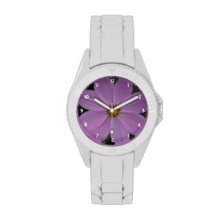 lilac flower watch