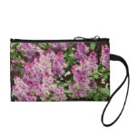 Lilac flowers coin wallet