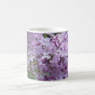 Lilac Flowers in Bloom Mug