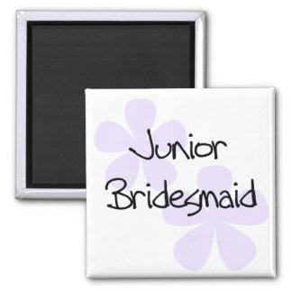 Lilac Flowers Junior Bridesmaid Magnet