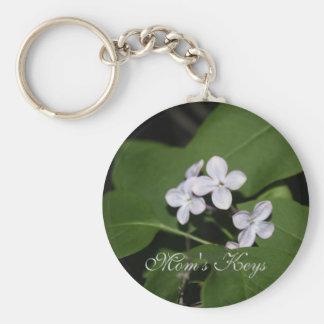 Lilac Flowers Keychain