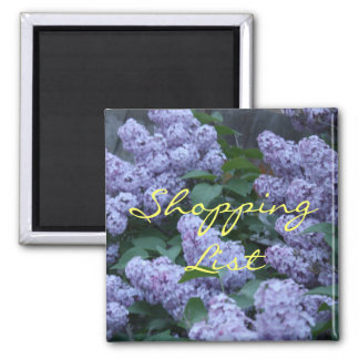 Lilac Flowers Magnet