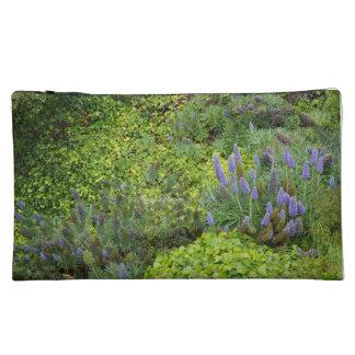 Lilac Flowers Makeup Bag