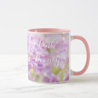 Lilac Flowers Mist Mug